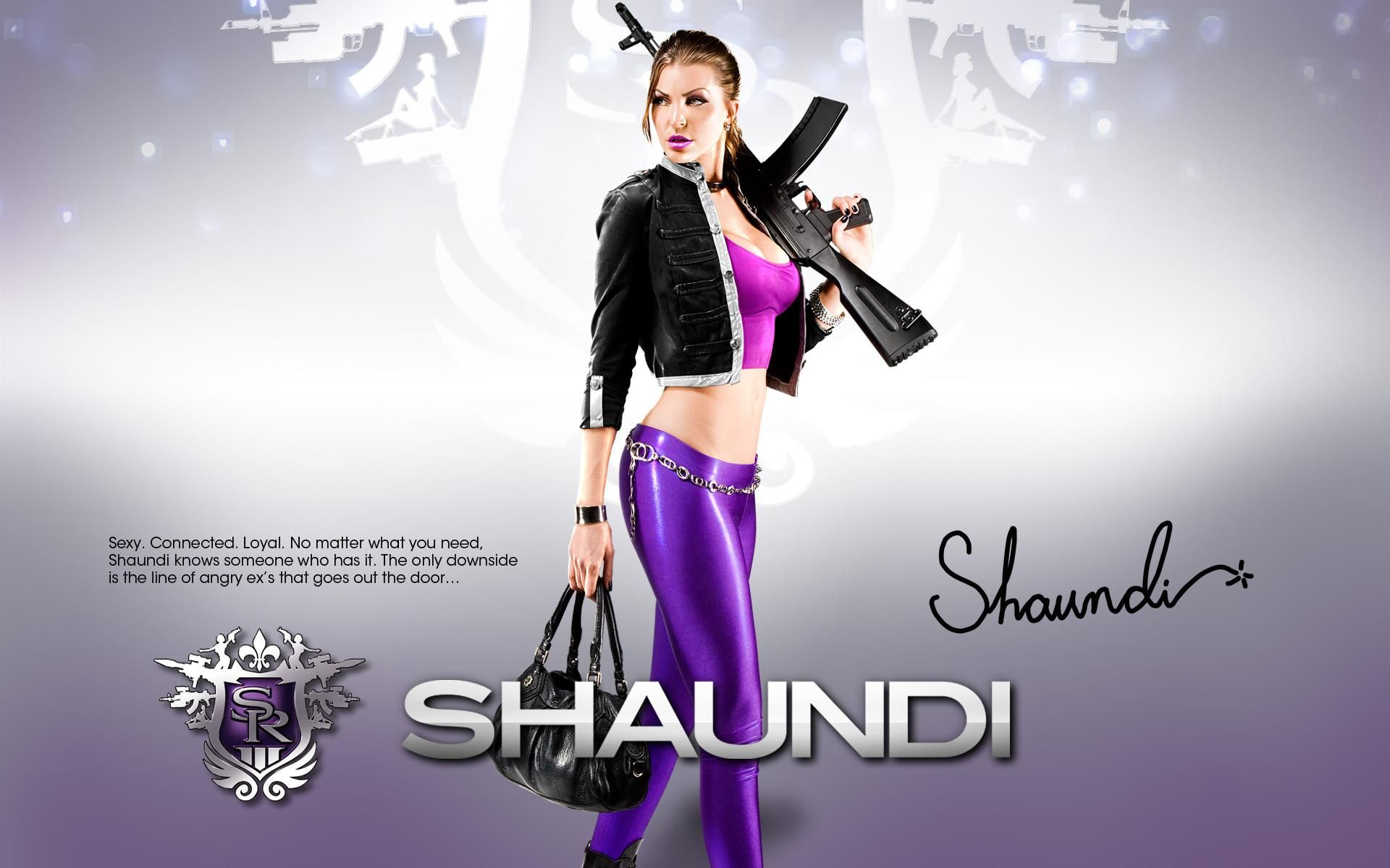 Shaundi Saints Row The Third Wallpapers Click On The Picture For