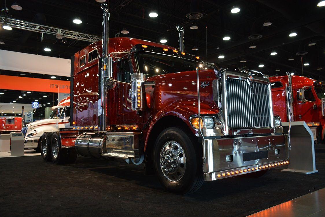 2015 international 9900 at mats2015 trucking internationaltrucks