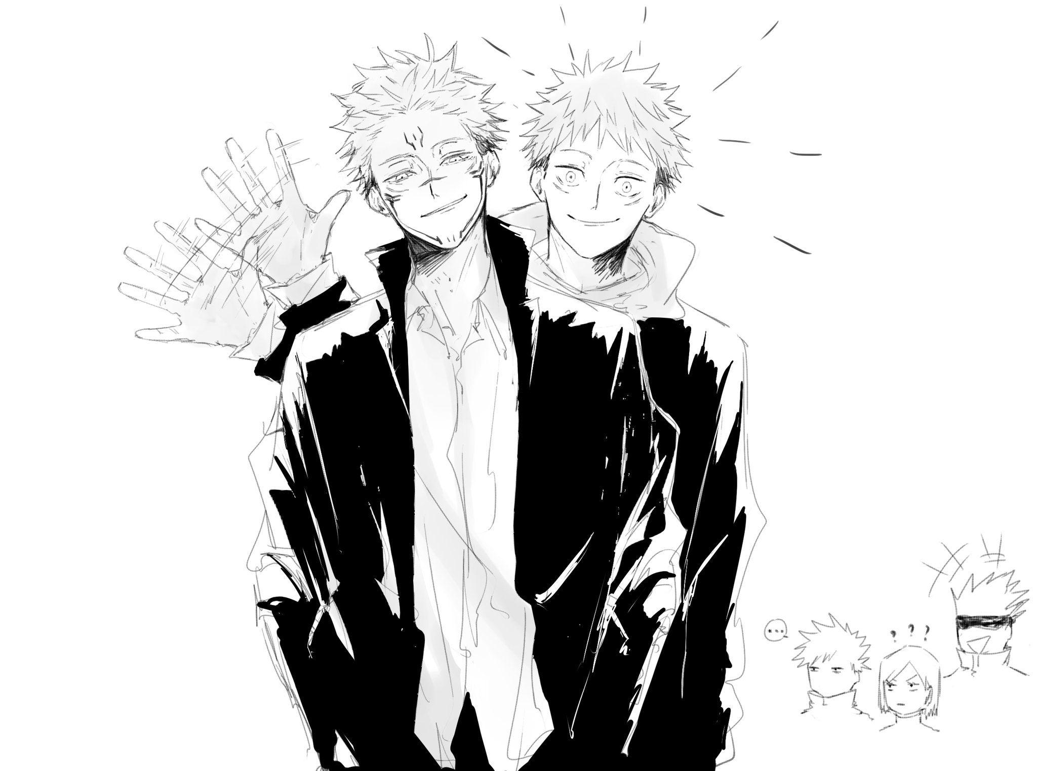 1021 on twitter in 2021 jujutsu anime guys cute anime guys