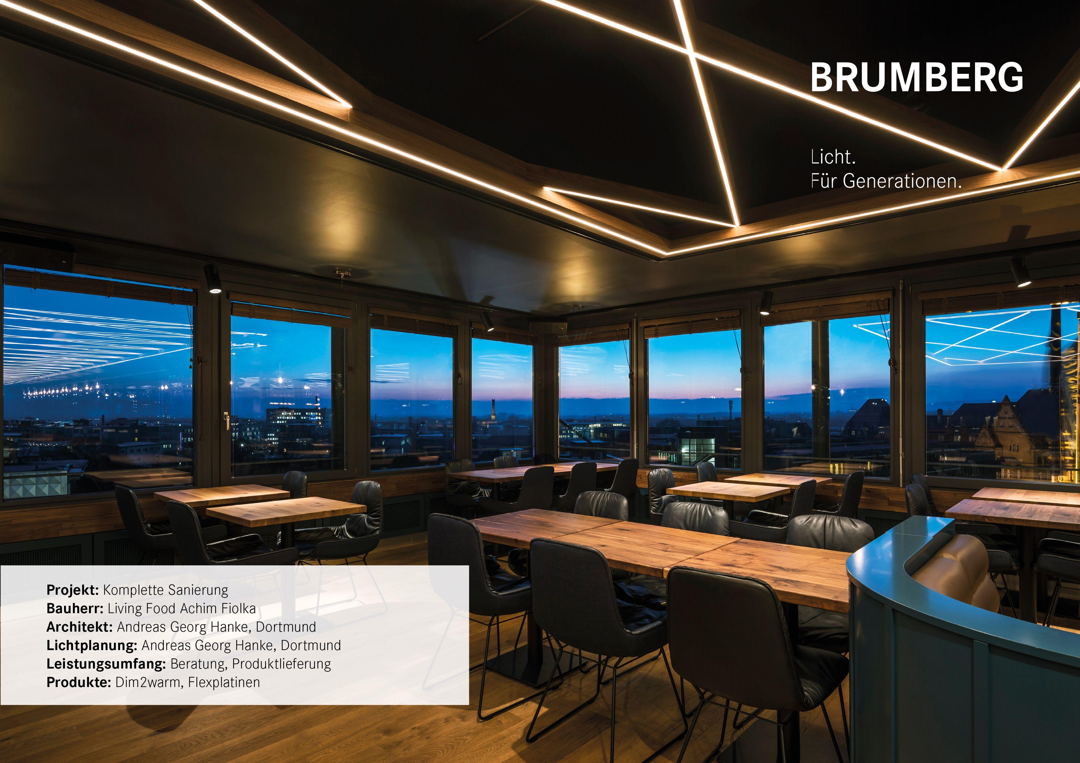 The Bernstein Bielefeld Beleuchtungsprojekt Brumberg In 2020 Lichtkonzept Sanierung Lichtplanung