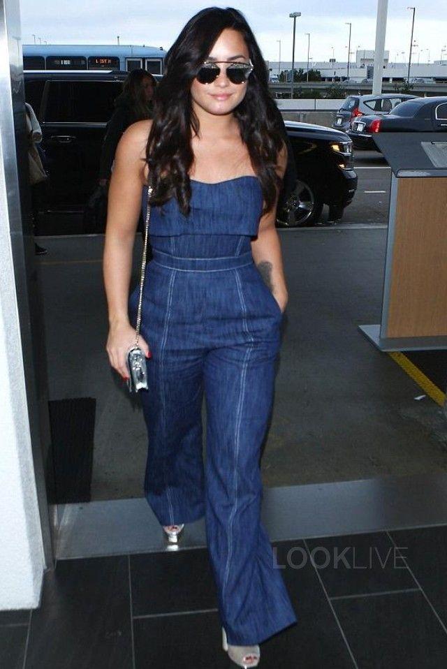 Demi Lovato wearing  Dior So Real Studded Sunglasses, Giuseppe Zanotti Lavinia Velvet Sandal