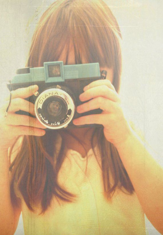 """vintage """"Diana"""" camera... just got one of these and am SOOOO excited to test it out!!!!"""