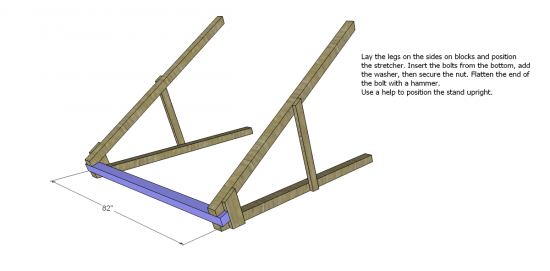 Free DIY Furniture Plans to Build a Swing A-Frame | The Design ...