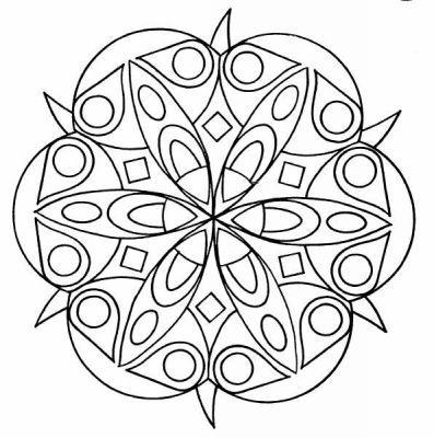 Coloriages Gratuits Mandala Mandala Coloriage Mandala Coloriage Mandala A Colorier