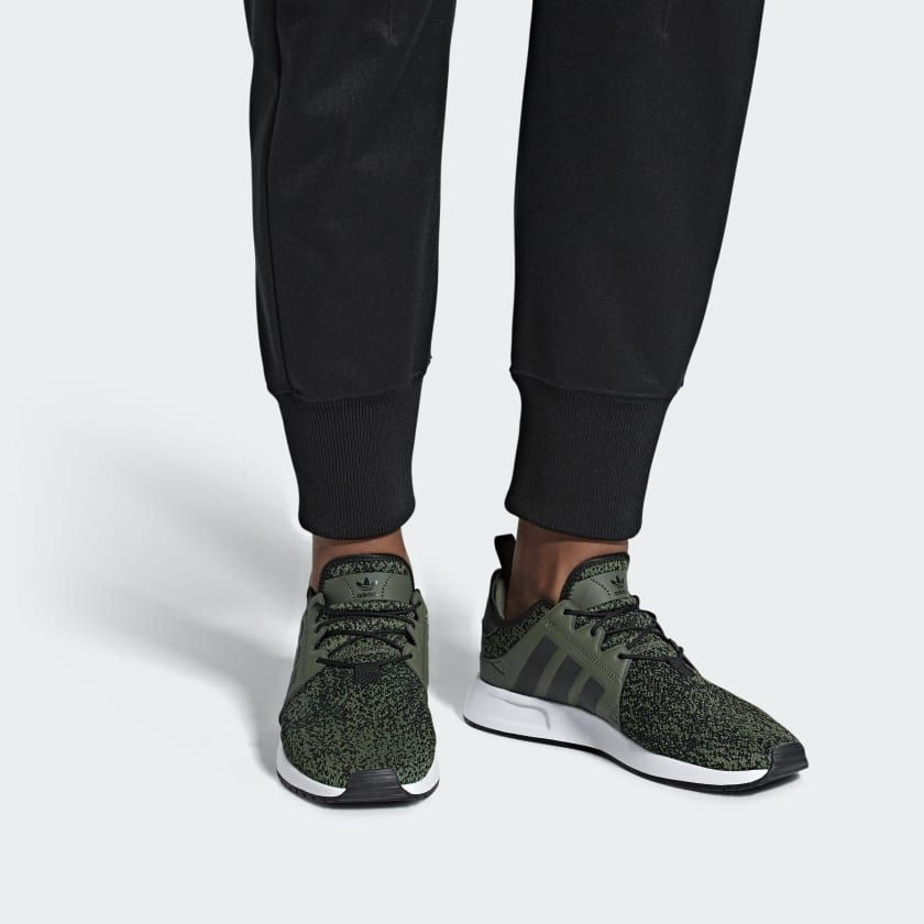 zapatos adidas verde y negros