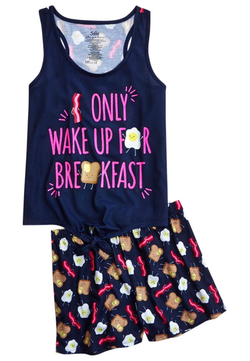 Eggs & Bacon Pajama Set   Tween outfits, Girls pajamas ...