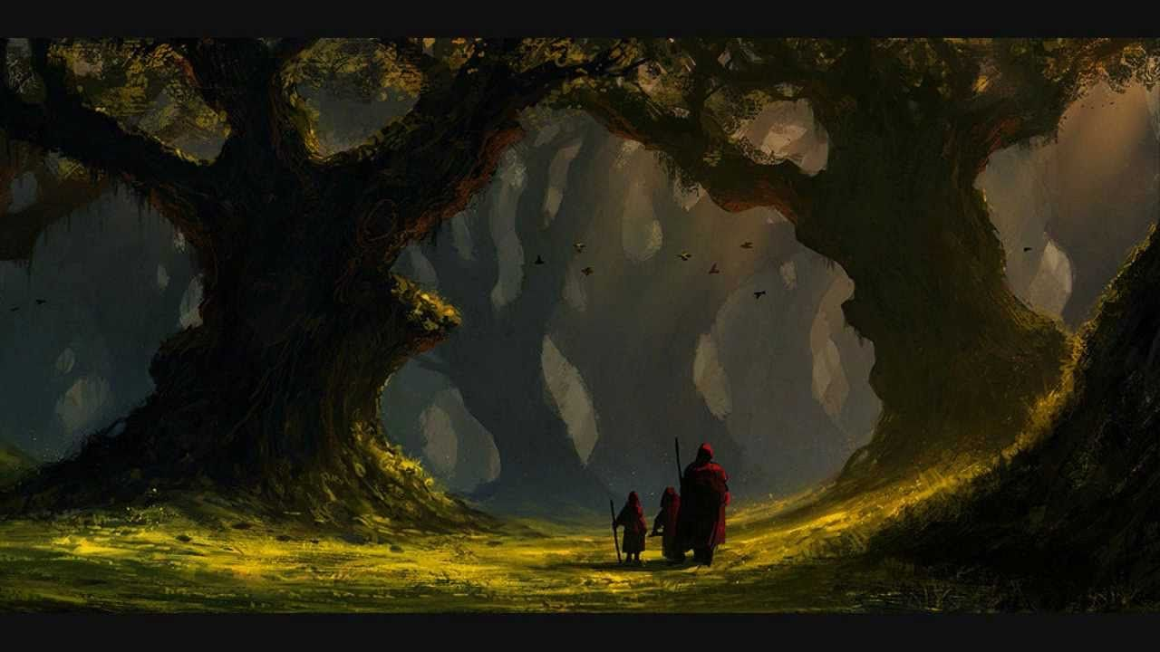 Image Result For Wolves In The Throne Room Fantasy Art Fantasy