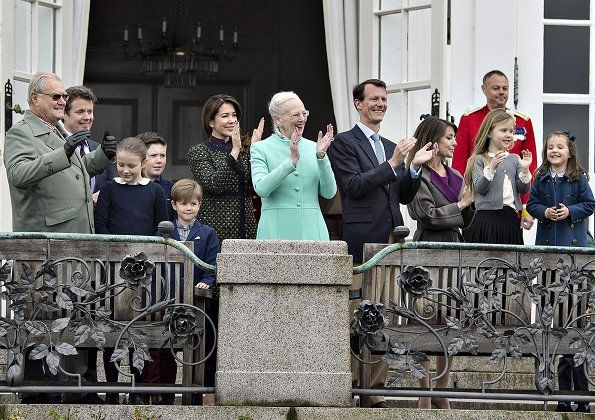 La reina Margarita celebra su 77º cumpleaños