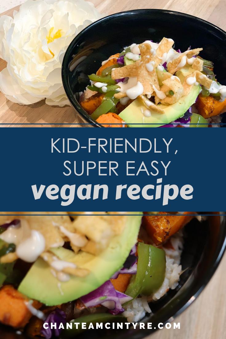 The Easiest Vegan Meal Ever Chanteamcintyre Com Vegan Recipes Easy Vegan Recipes Easy Vegan