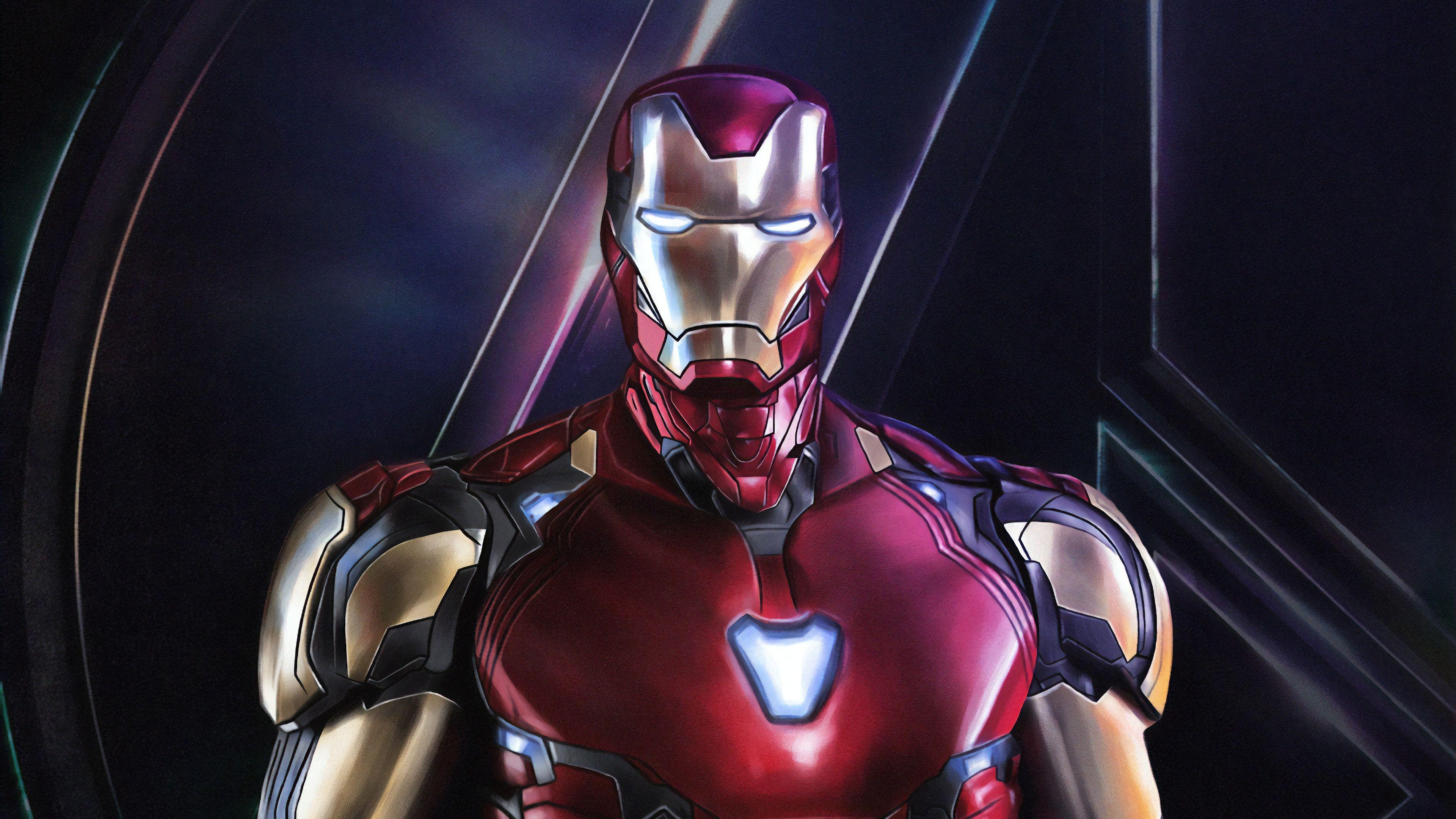 Iron Man Endgame Wallpaper Download Hd