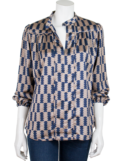 45abaacde7758 The Odells - milano crepe poet blouse