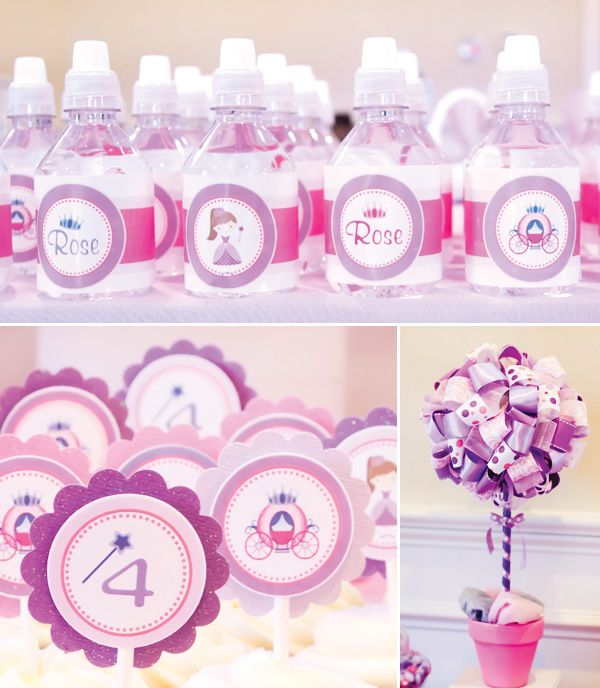 Pink & Purple Princess Birthday Party // Hostess with the Mostess®