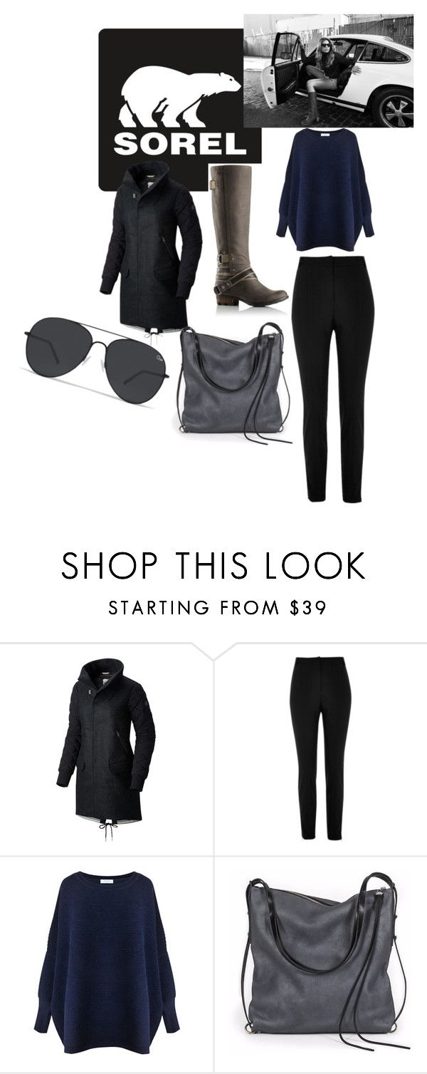 """""""Kick Up the Leaves (Stylishly) With SOREL: CONTEST ENTRY"""" by rebeccalsanders ❤ liked on Polyvore featuring SOREL, River Island, Paisie, Ina Kent and sorelstyle"""