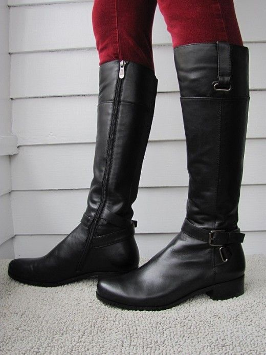 Narrow Calf Boots Riding Boots Boots Boots For