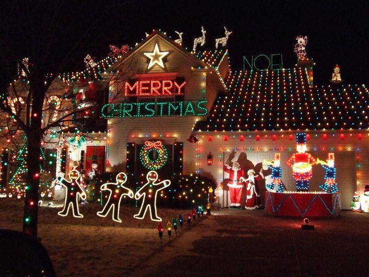 Christmas Lights .