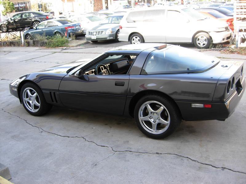 1989 Charcoal Metalic Chevy Corvette Coupe Corvette For Sale Corvette Chevy Corvette