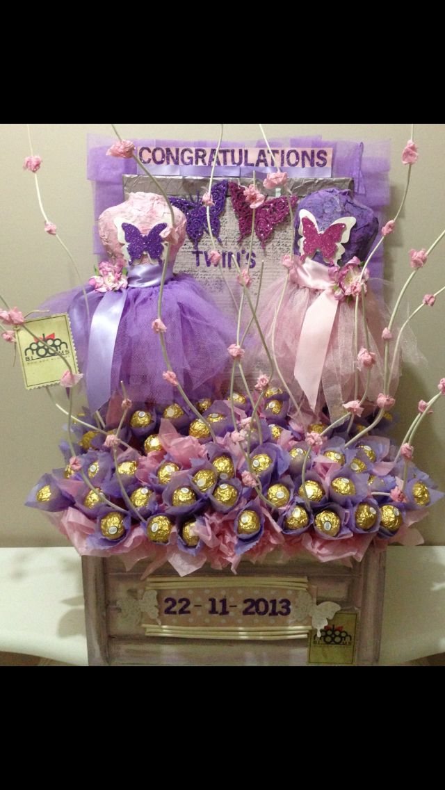 Bon Bon blooms, dress form chocolate ferro Rocher bouquet.