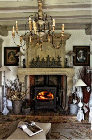 fireplace .. french in every way