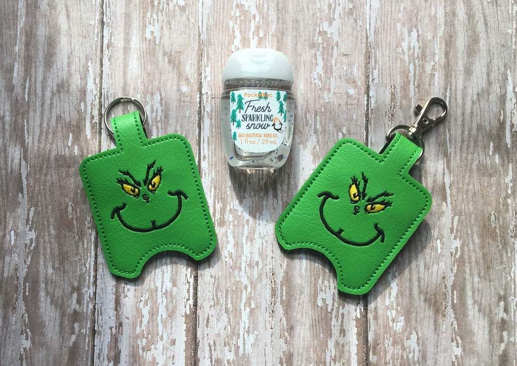 Christmas Character Hand Sanitizer Holder Hand Sanitizer Holder