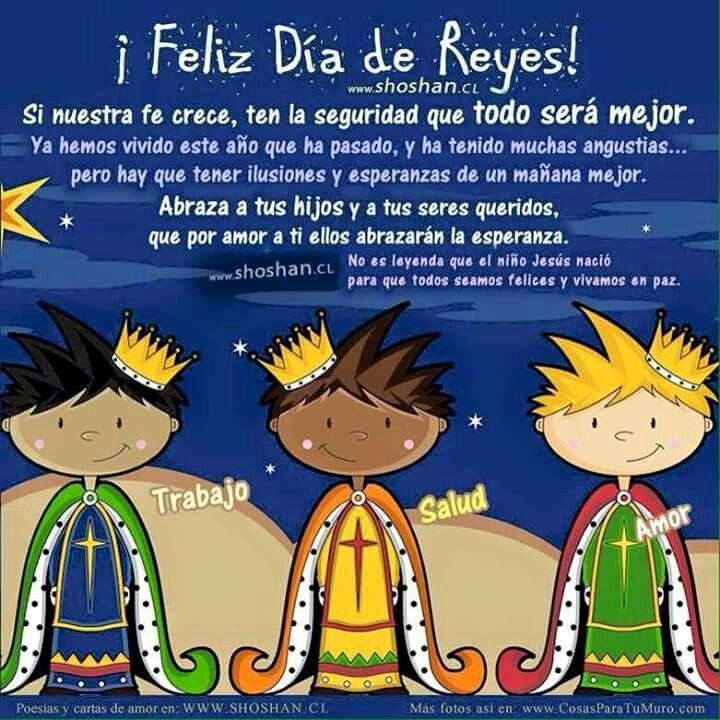 Dia De Reyes Día De Reyes Happy Three Kings Day Kings