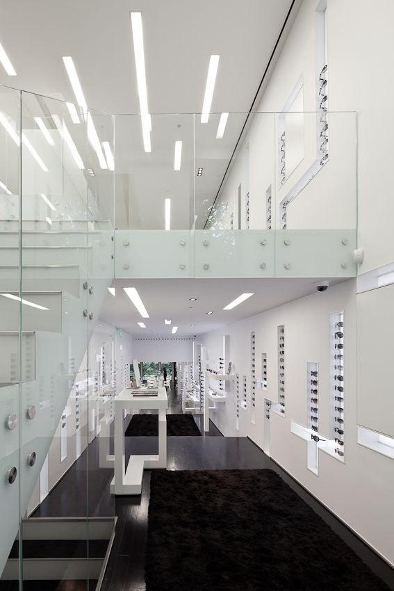 Optical Store in Lisbon / Jorge Sousa Santos | Staircases and ...