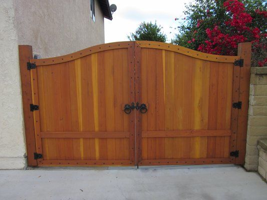 Redwood Gate Designs Redwood Driveway Gate Piano Design Gate