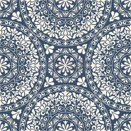 Muster Pattern Orientalisch Ornament Digital 11