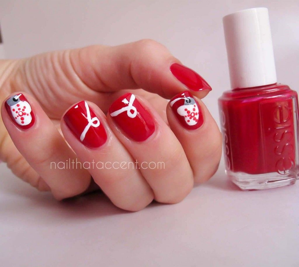 nice Christmas Nail Art - Last Call - Nail That Accent! | Christmas ...