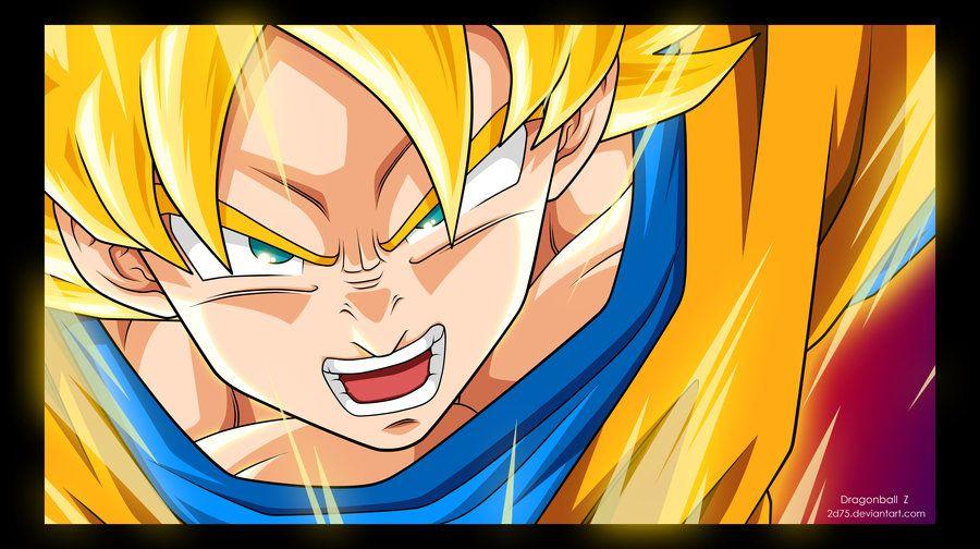Super Saiyan Dragon Ball Art Super Saiyan Goku Super Saiyan