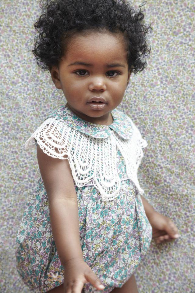 Liberty bubble dress + lace poncho (inspiring)