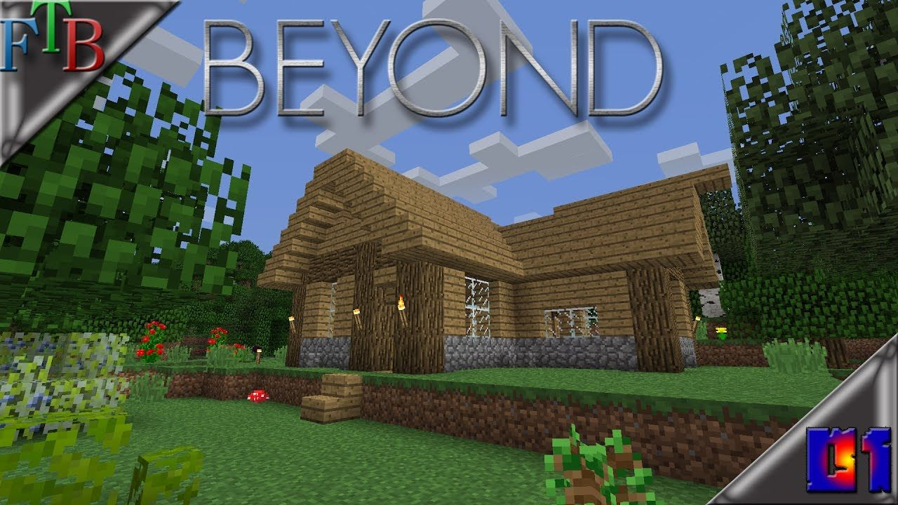 Minecraft Feed The Beast Beyond Ep1 Minecraft Beast New Mods