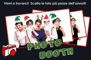 PHOTO BOOTH DI NATALE CON PICCOLO SET FOTOGRAFICO