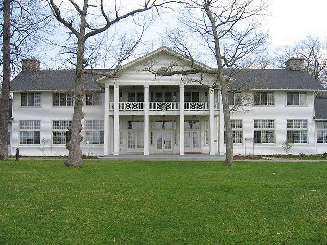 Waldenwoods in Hartland, Mi. Where I married the man of my dreams & best friend... :-)
