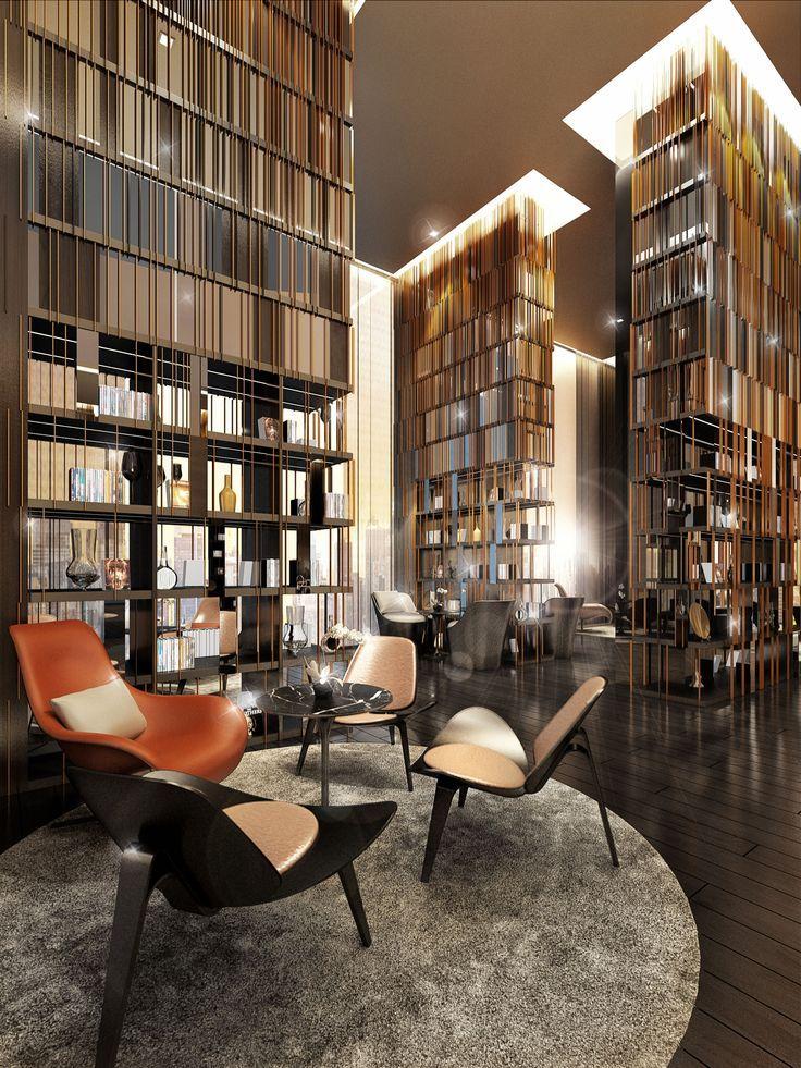 Resultado De Imagem Para Lounge Library Hotel Interior
