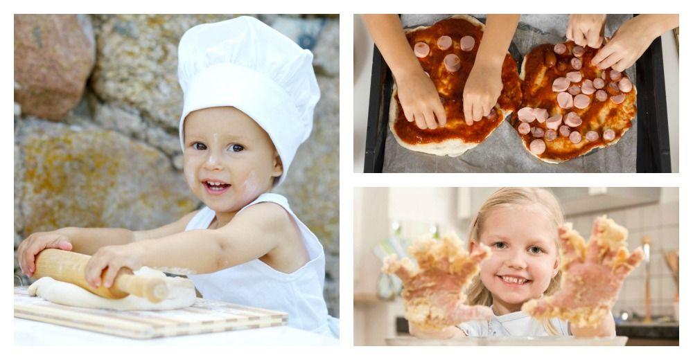 Cucinare con i bambini donna moderna despina pinterest - Cucinare coi bambini ...