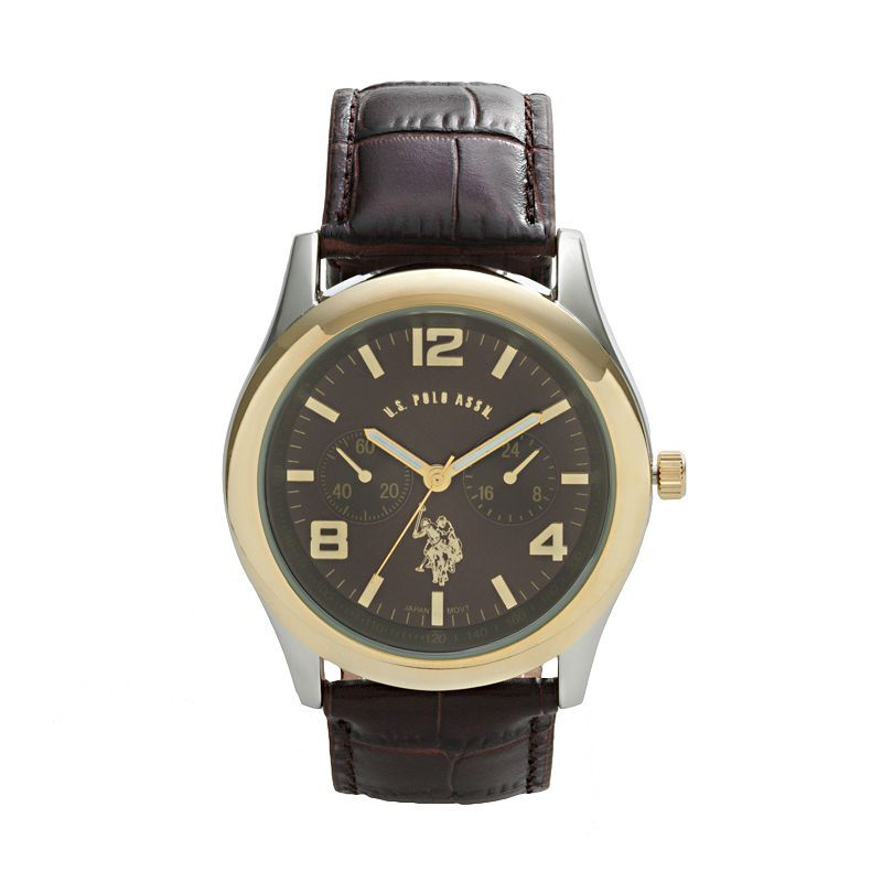 U S Polo Assn Women S Quartz Metal And Alloy Automatic Watch Color Two Tone Model Usc40118