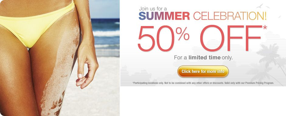 Ideal Image Laser Hair Removal is now offering 50 OFF