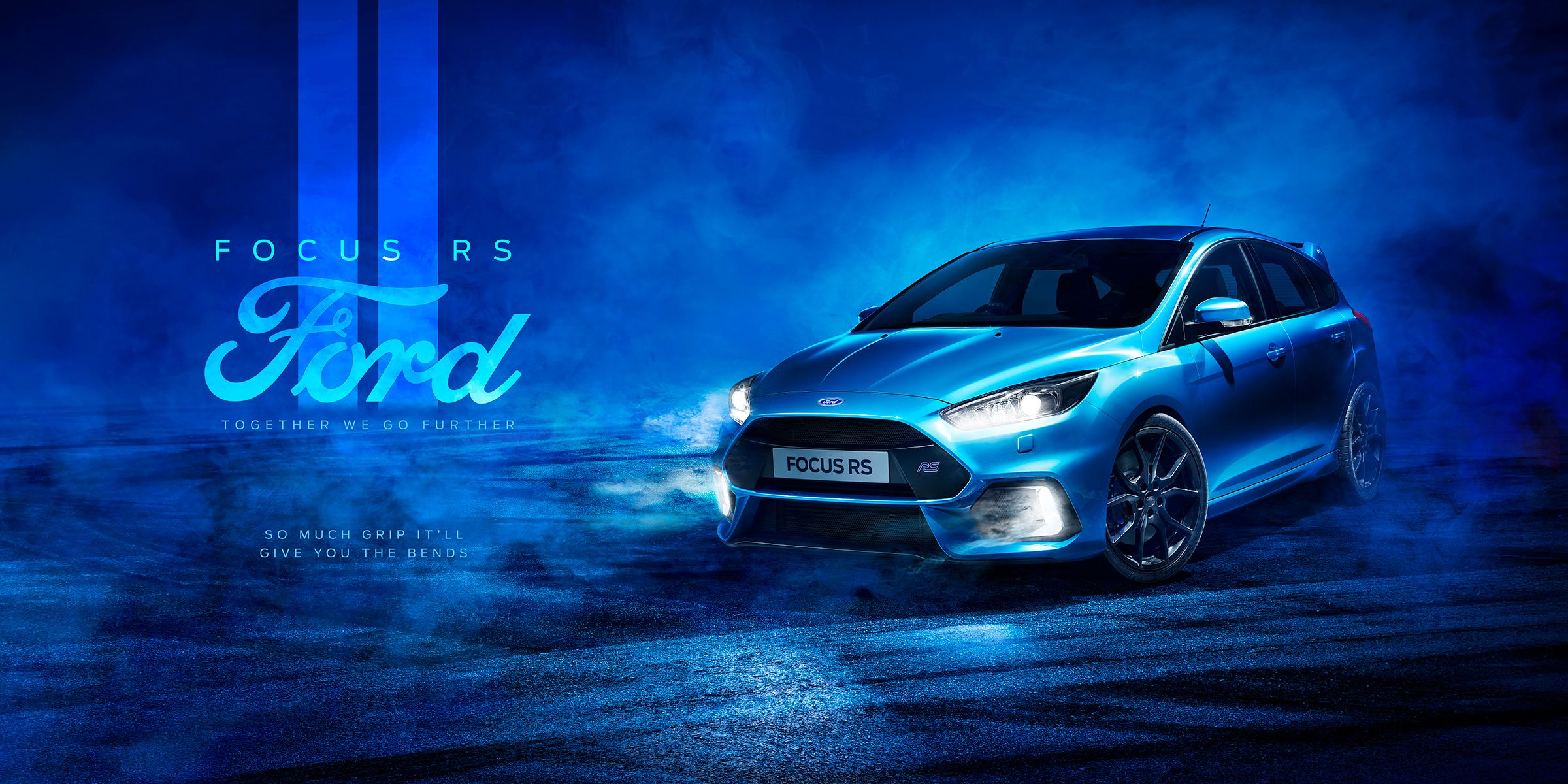 Ford Focus Rs Full Cgi Retouching On Behance Ford Focus Rs