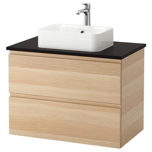 Godmorgon Tolken Horvik Shkaf S Plot I Mivka Ikea Wash Basin