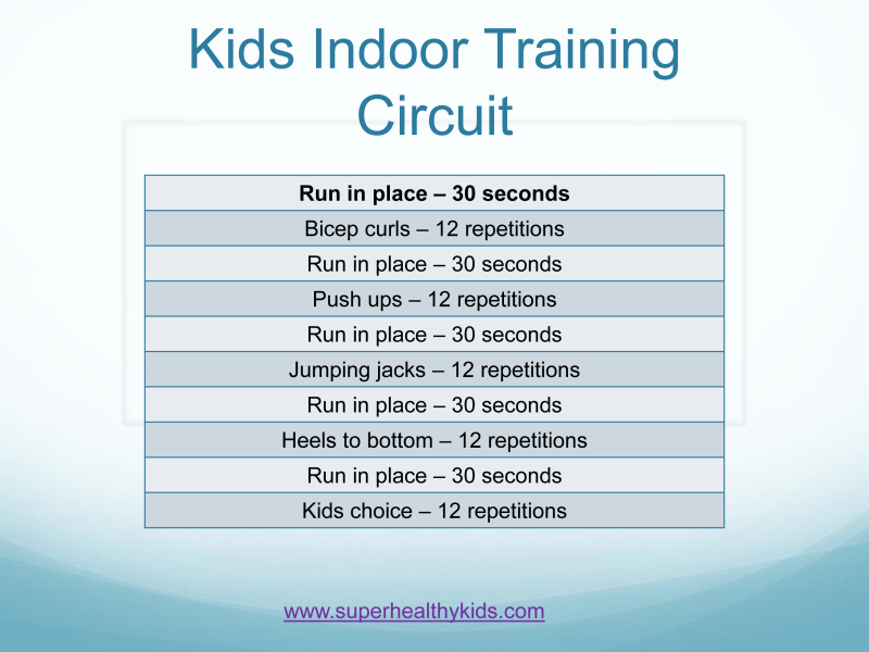 keeping kids fit  before  during and after school