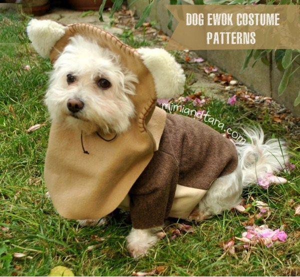 Dog Ewok Costume Patterns