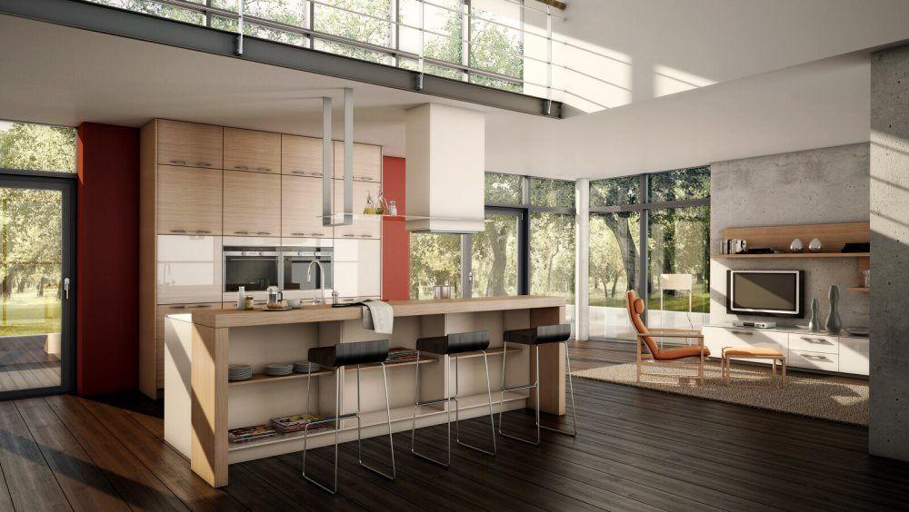 Cocina office tipo loft la practicidad de las cocinas office y la est tica moderna que stas - Cocinas tipo loft ...