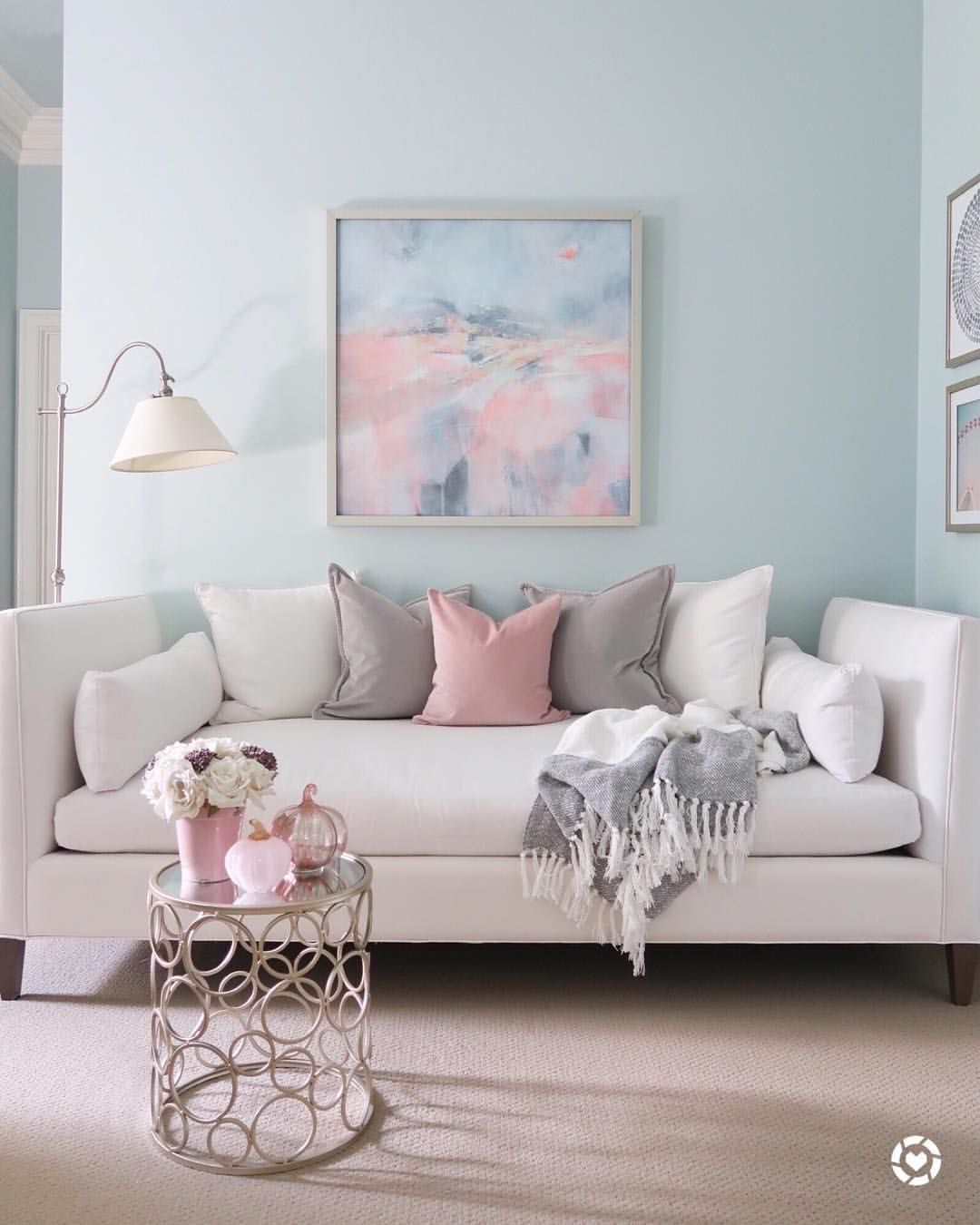 Beautiful Blush And Gray Bedroom Day Bed Trending Decor