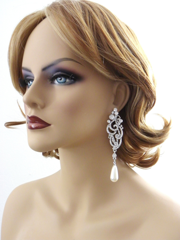 34++ Wedding bridal pearl earrings ideas