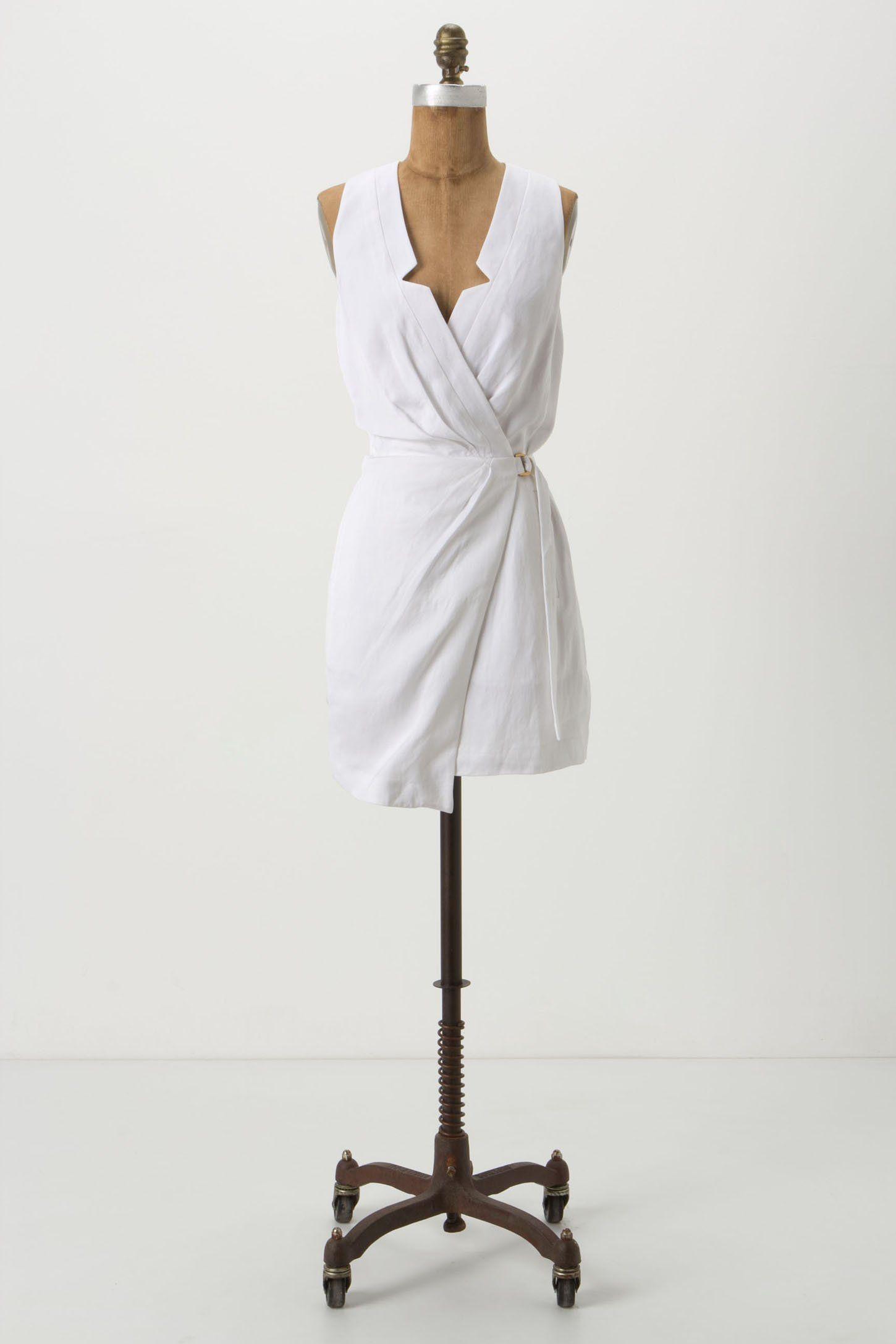 White Graduation Dresses with Vest