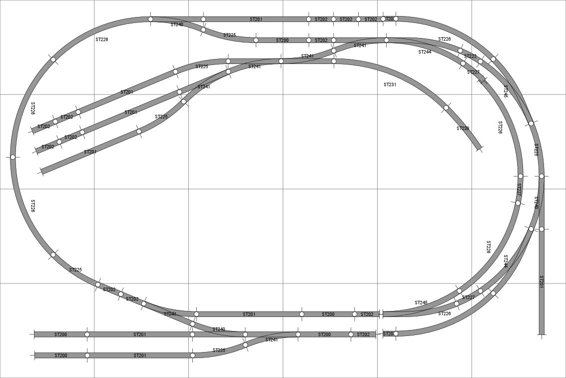 6x4 nice and simple | Trains | Model railway track plans, Ho train