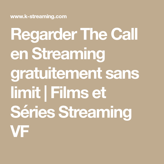 The Call Stream