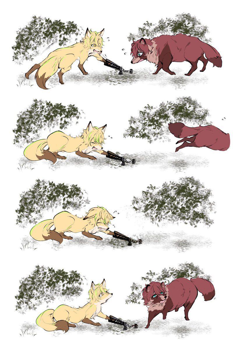鮭川 on in 2020 Animal design, Anime art, Character design