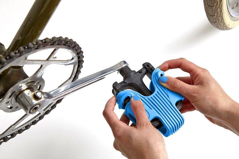 Sovrappensiero S Grippine Enhances Bike Pedal Traction Fietsen