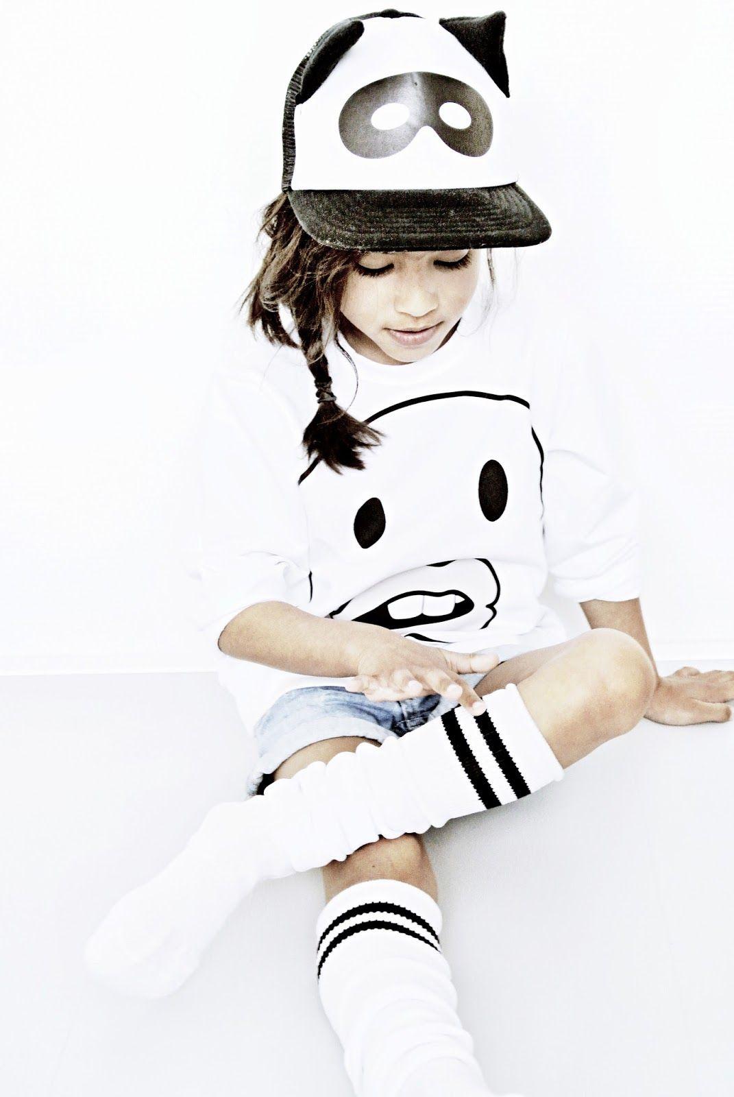 Wweater - C R L N B S M N S via Big & Belg Denim shorts - H & M Cap - Beau LOves via Kids Department